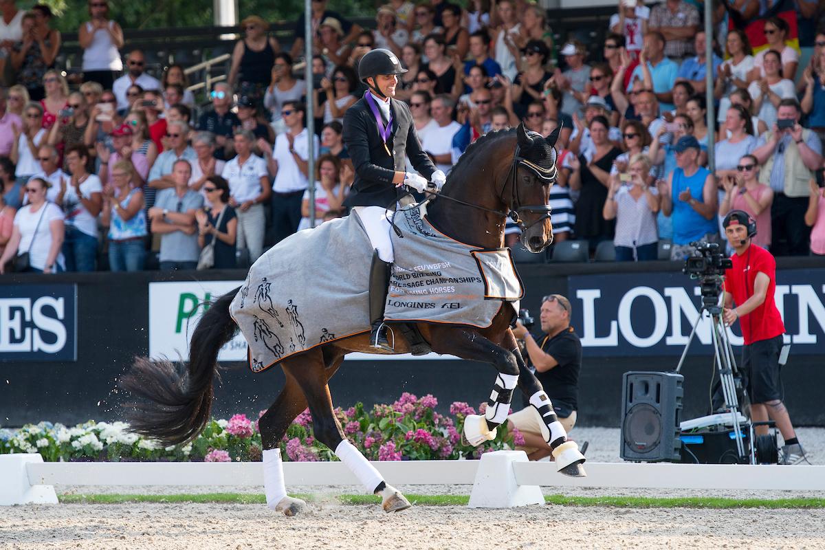 World Championship Young Dressage Horses @ Nationaal Hippisch Centrum